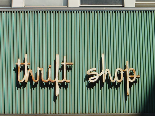 Image result for thrift shopping
